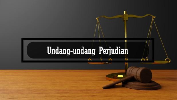 undang-undang perjudian
